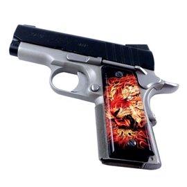 Fire Tiger SPD Custom Acrylic Pistol Grips
