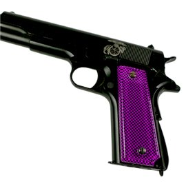 Carbon Fiber Pink SPD Custom Acrylic Pistol Grips