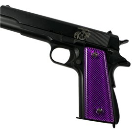 Carbon Fiber Purple SPD Custom Acrylic Pistol Grips