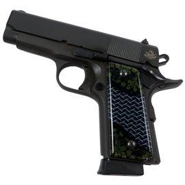 Crosshatch Grunge SPD Custom Acrylic Pistol Grips
