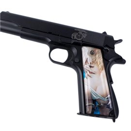 Naughty Angels 2 SPD Custom Acrylic Pistol Grips