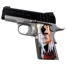 Naughty Angels 1 SPD Custom Acrylic Pistol Grips