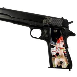 Femme Fatale 2 Black SPD Custom Acrylic Pistol Grips