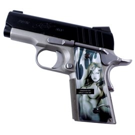 Devil Girl SPD Custom Acrylic Pistol Grips
