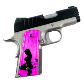 Angel & Devil Pink SPD Custom Acrylic Pistol Grips