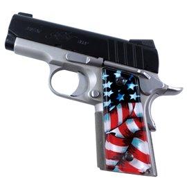 American Flag 1 SPD Custom Acrylic Pistol Grips
