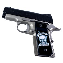 Death Before Dishonor SPD Custom Acrylic Pistol Grips