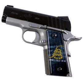 Rebel Flag SPD Custom 1911 Acrylic Panel Pistol Gun Grips