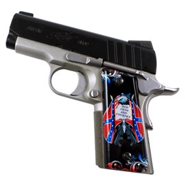 God and Country SPD Custom Acrylic Pistol Grips