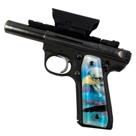 In God We Trust SPD Custom Acrylic Pistol Grips