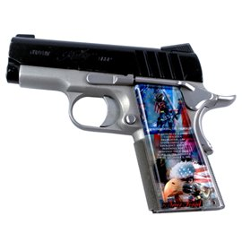 Never Forget SPD Custom Acrylic Pistol Grips