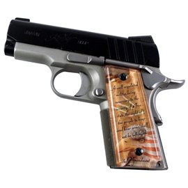 The 2nd Amendment SPD Custom Acrylic Pistol Grips