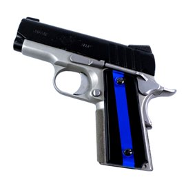 Thin Blue Line SPD Custom Acrylic Pistol Grips