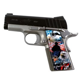 United We Stand SPD Custom Acrylic Pistol Grips