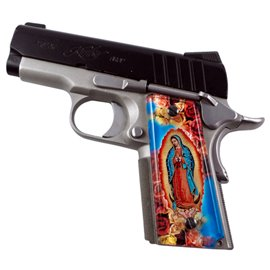 Virgin Mary SPD Custom Acrylic Pistol Grips
