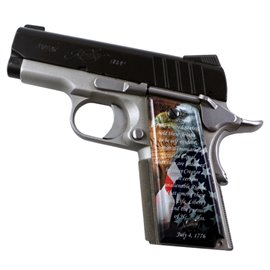 We the People SPD Custom Acrylic Pistol Grips