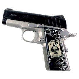 Ace Death Card SPD Custom Acrylic Pistol Grips