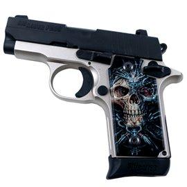 Bio Skull SPD Custom Acrylic Pistol Grips
