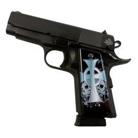 Celtic Cross SPD Custom Acrylic Pistol Grips