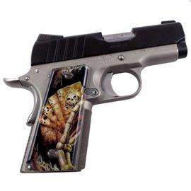 Dark Grim SPD Custom Acrylic Pistol Grips