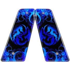Ying & Yang Blue
